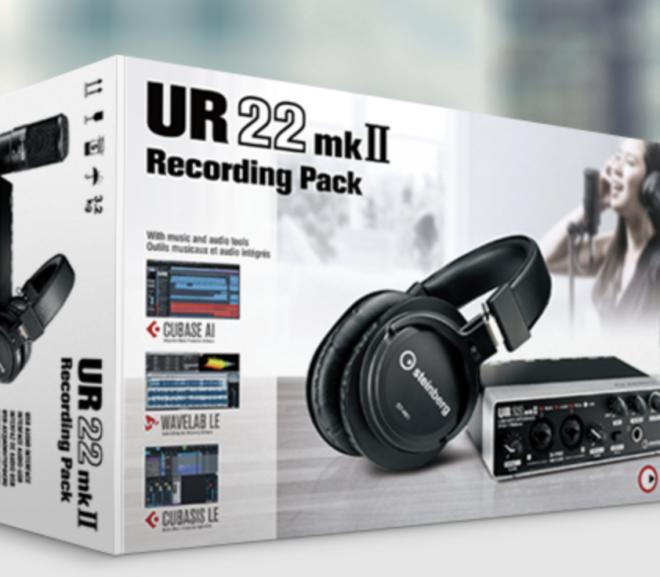 UR 22 mark II recording pack